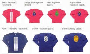 regiment shirts