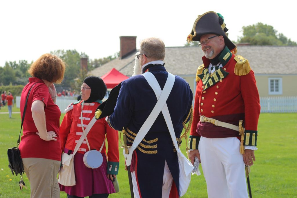 Uniforms and Muskets
